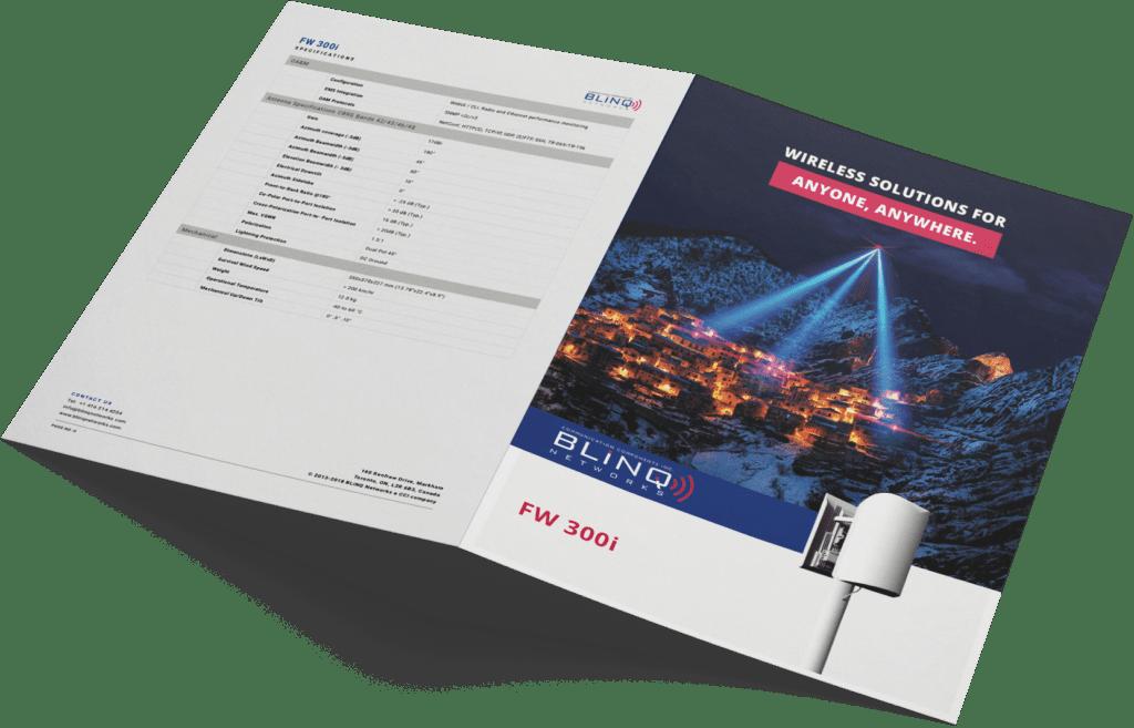 Fixed Wireless Single Box LTE solution