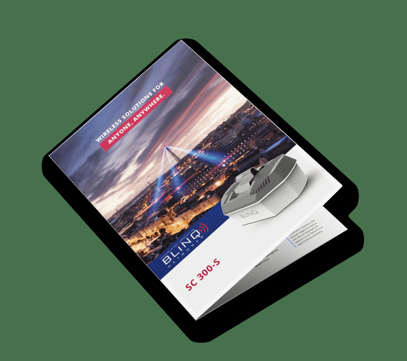 blinq networks sc300s base station specification sheet brochure